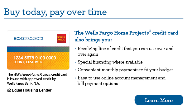 Wells Fargo Financing Apply Now